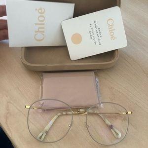 Chloe oversized reading glasses